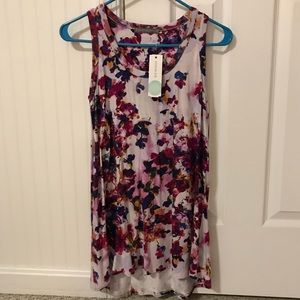 67a2506d1aec Loveappella Tops - Loveappella Earnest Knit Swing Tank - Size Small